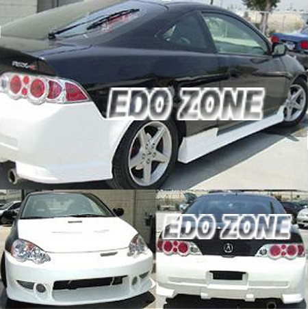 Acura RSX On Body Kits Ground Effects Sporty Racing Style - 2005 acura rsx body kit