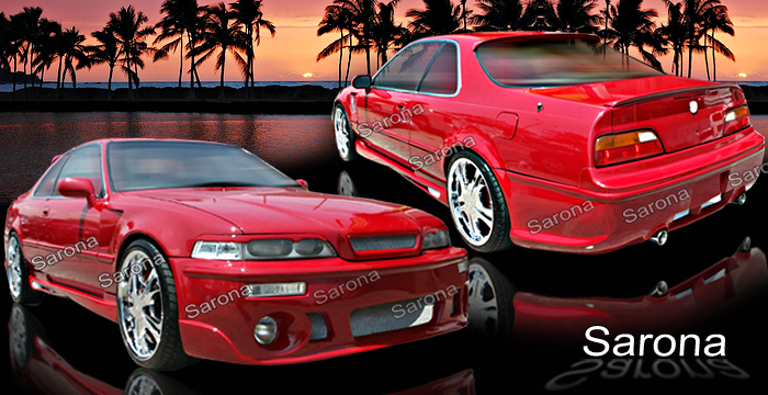 Acura Legend Body Kits Acura Legend Accessories Ground Effect Kit - Acura legend parts