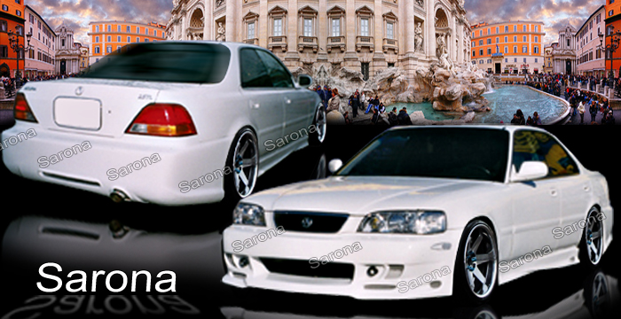 Acura Tl Body Kits Ground Effects Acura Tl Aftermarket