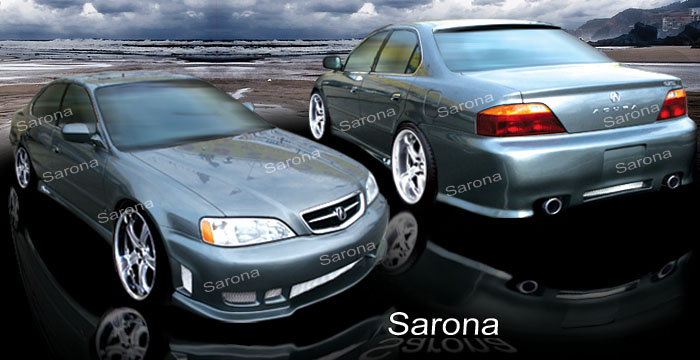 Acura TL Body Kits Ground Effects Acura Tl Aftermarket Sport - 2003 acura tl body kit