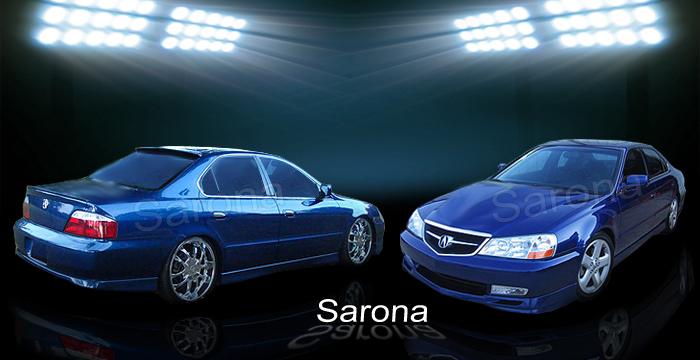 Acura TL Body Kits Ground Effects Acura Tl Aftermarket Sport - Acura tl lip kit