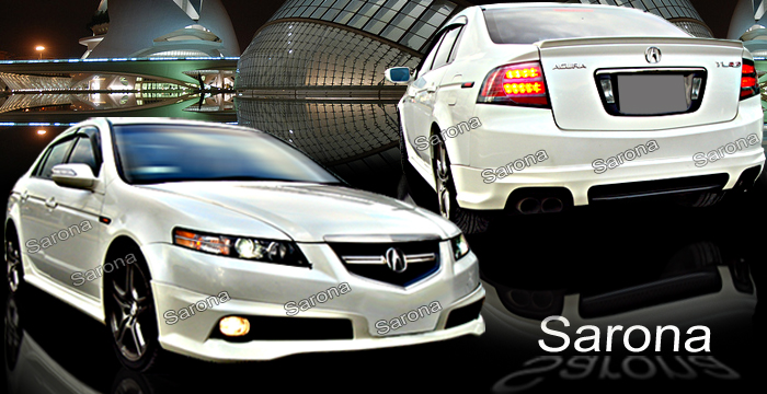 Acura TL Body Kits Ground Effects Acura Tl Aftermarket Sport - Acura tl rear bumper