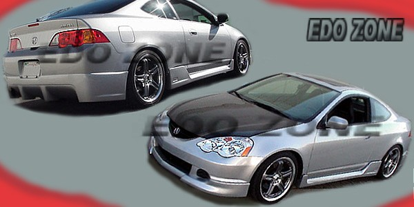 Acura RSX On Body Kits Ground Effects Sporty Racing Style - Acura rsx aftermarket parts