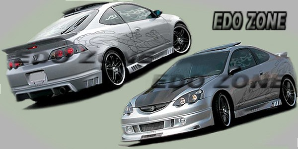 Acura RSX On Body Kits Ground Effects Sporty Racing Style - Acura rsx accessories
