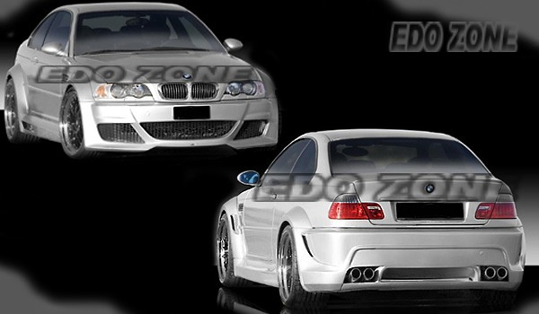 3 series bmw/ e30- e36- e46- e90 racing style sport body kits