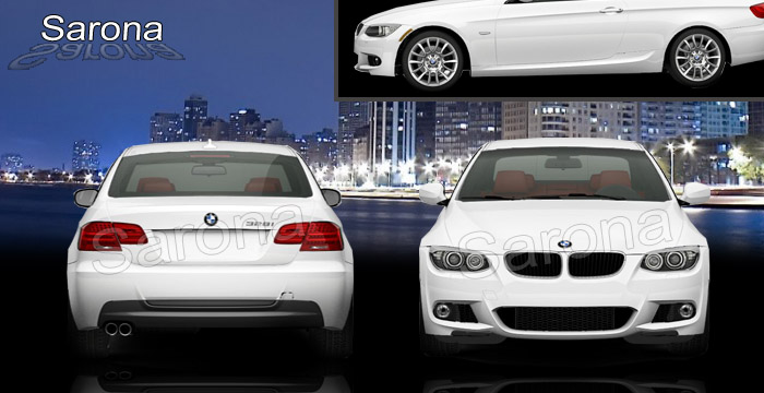BMW 3 Series Coupe Full Body Kit EBM 057 KT 129900