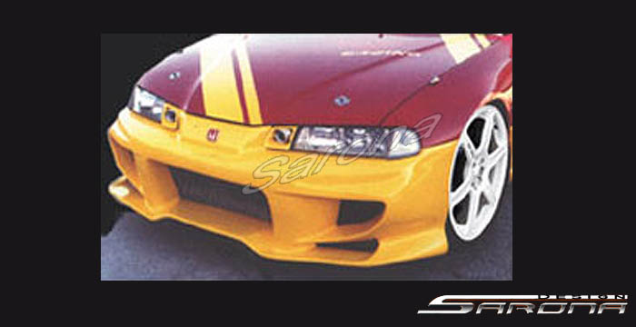 92 96 Prelude Front Bumper With Aluminum Mesh Grill S45000