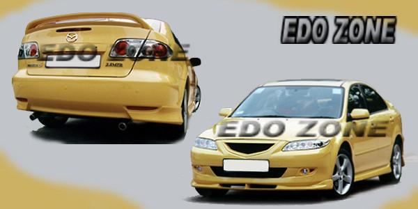 Mazda 6 Body Kits, GROUND EFFECTS, 2003 On MAZDA 6 Sport Racing Style