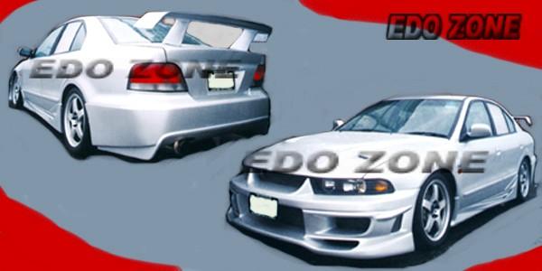 mitsubishi 99 03 galant 4pcs body kitgrill kit 56 - Mitsubishi Galant 2002 Body Kit