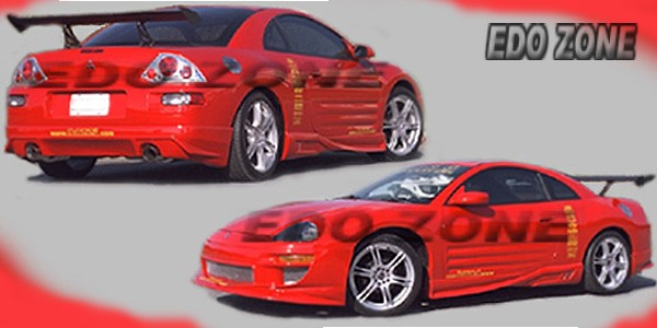 mitsubishi eclipse aftermarket aerodynamics1990 to 2005 body kits