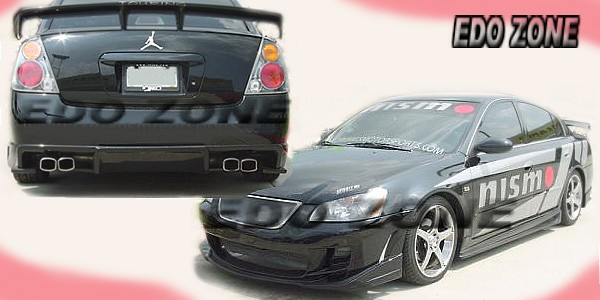 Nissan Altima 1995 To 2006 Body Kit Nissan Sentra Racing Style Body Kits Sporty Bumpers Wide