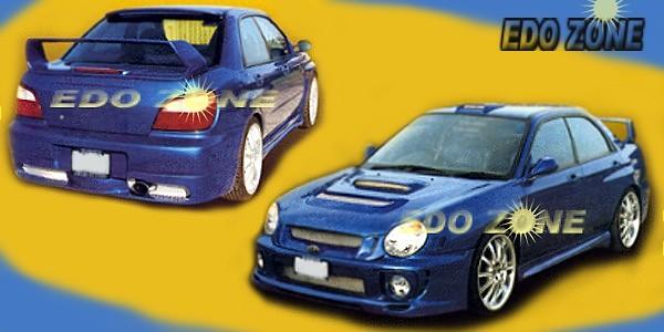Subaru Legacy Body Kit Subaru Impreza Custom Racing Style