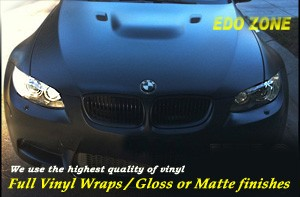 Full Vinyl Wraps / Gloss or Matte finishes