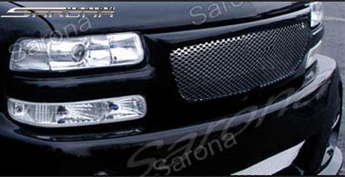 Chevrolet Tahoe Custom Grill Ech 001 Gr 315 00 This Comes With Silver Aluminum Mesh Add 225 For Chrome Insert As Shown In Photos