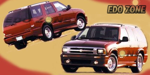 1994 1993 1992 Chevrolet S Blazer Body Kits Accessories