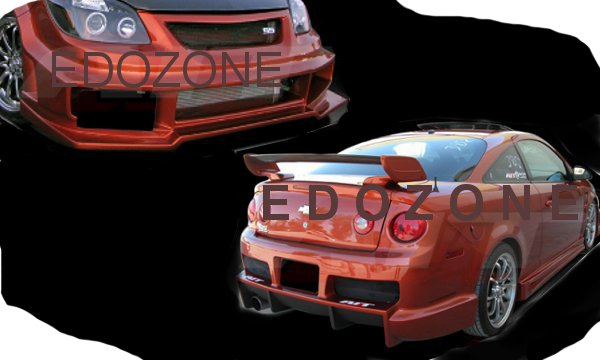 Ai Bmx Style Front Bumper Cover Rear Side Skirts Body Kit For Chevrolet Cobalt on 1991 Chevy Malibu