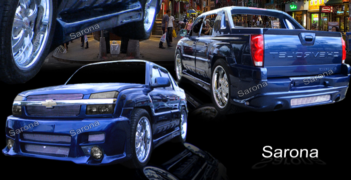 CHEVROLET AVALANCHE FULL CUSTOM BODY KIT