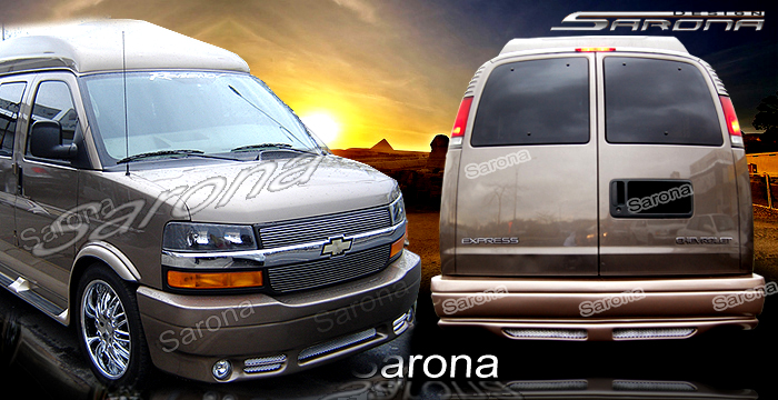 Body Kit Includes Chevy Van Express