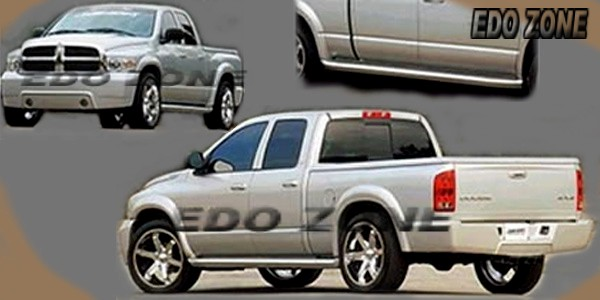 2002 04 Dodge Ram 1500 4dr 4 Pcs Body Kit
