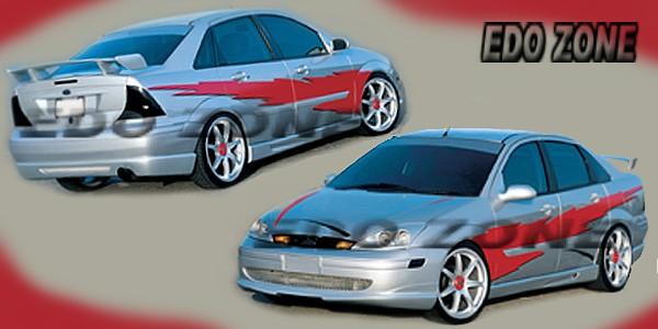 2001 ford focus sedan body kit