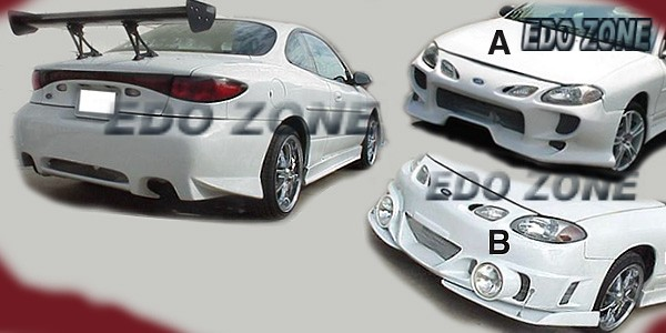 1998 1999 2000 2001 2002 Ford Zx2 4 Pcs Full Body Kit 43b Xfgb Call Includes Front Rear Pers 2 Side Skirts Find More
