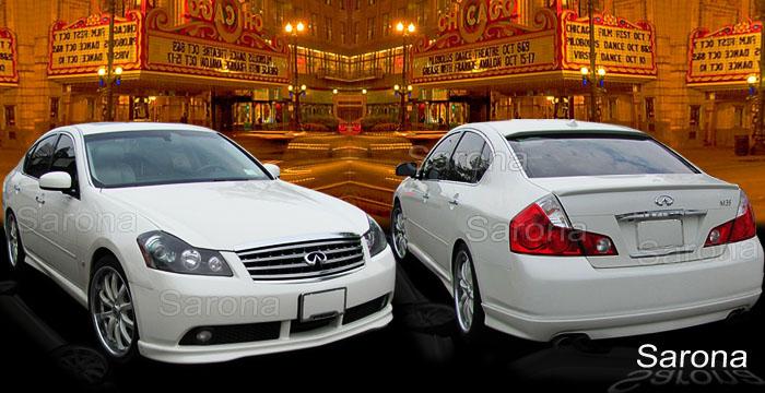 Infiniti G35 Custom >> Infiniti G20 Infiniti G35 & Infiniti Q45 body kits ...