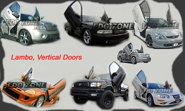 Vertical Doors lambo sport style door bolt on aftermarket kits, BODY & DOOR KITS, Vertical Doors kits FOR/ ACURA,BMW,AUDI,CHEVY,CADILLAC,GMC,DODGE,FORD,HONDA,LEXUS,LINCOLN,MAZDA,MERCEDES,MITSUBISHI,NISSAN,TOYOTA,VW,DENALI,TAHOE,YUKON,ESCALADE,DURANGO,CAR,TL,RL,