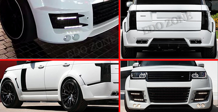 2002 On Land Rover Range Rover Body Kit Accessories