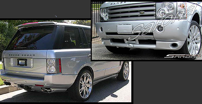 Rr Kt Spoiler Spoilers Wing Wings Bumper Bumpers Front Rear Lip Roof Body Kit Kits Sarona Range Rover Hse on 2003 Range Rover Engine