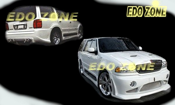 Lincoln Navigator Body Kit Ground Effects Aerodynamics Bumpers Spoilers Hoods Fenders