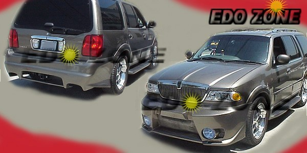 Lincoln navigator body kit ground effects aerodynamics bumpers body kit includes front rear bumpers 2 side skirts 1998 2010 lincoln navigator custom bumpers body kits wing spoilers at wholesale sciox Gallery