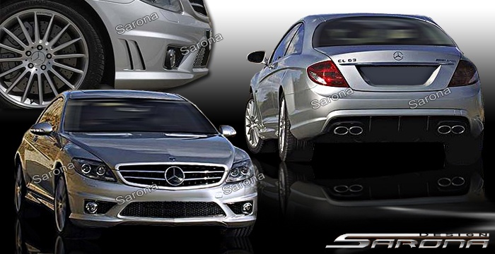 2006 Mercedes CLK Class Body Kits & Ground Effects – CARiD.com
