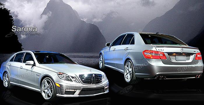 Mercedes e class body kit mercedes benz lorinser style for Mercedes benz e class accessories
