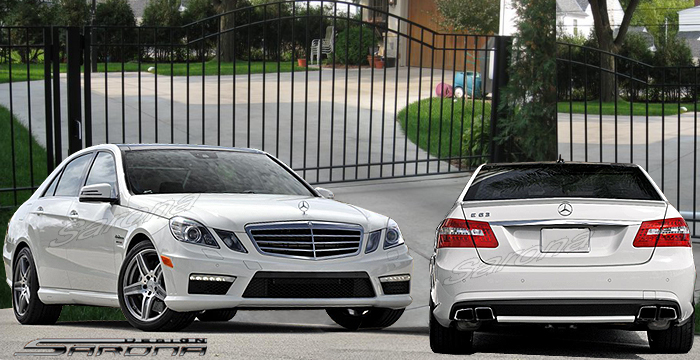 Mercedes e class body kit mercedes benz lorinser style for Mercedes benz upholstery kits