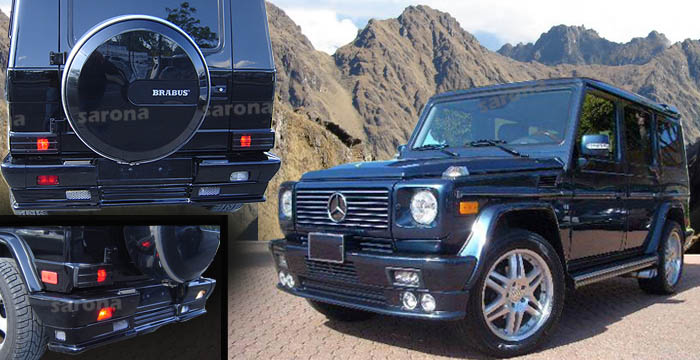 Mercedes benz g class g wagon g550 g63 g55 kits and for Mercedes benz g class accessories