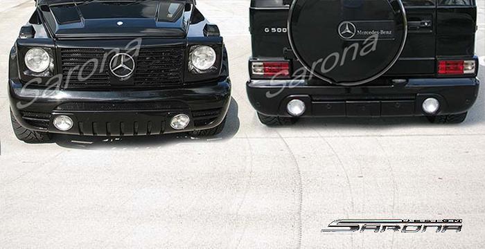 G Body Malibu Fiberglass Bumpers