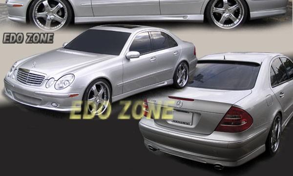 Mercedes e class body kit mercedes benz lorinser style for Mercedes benz usa accessories
