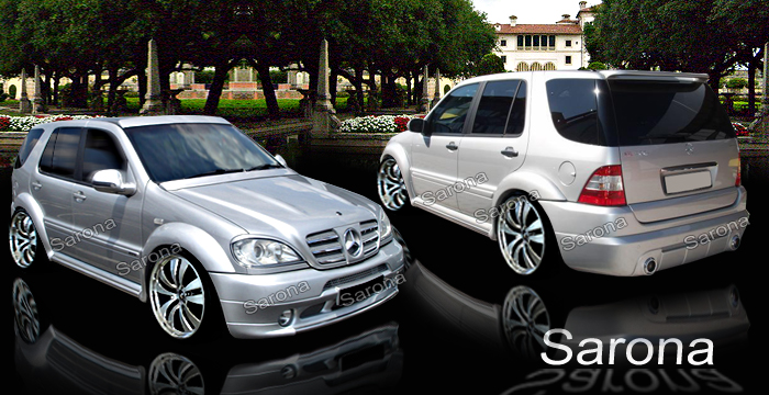Mercedes benz ml_se_sel_sec_body_kits_ground_effects_spoilers_wings_mercedes benz ml custom