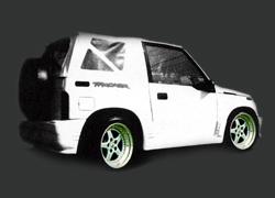 suzuki sidekick & geo tracker body kits / ground effects