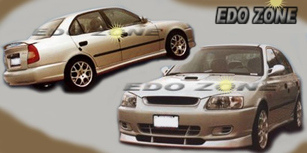 hyundai accent tiburon body kits ground effects spoilers bumpers trunk wings accessories hoods fenders kit hyundai accent tiburon body kits ground